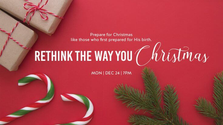 Rethink the way you Christmas
