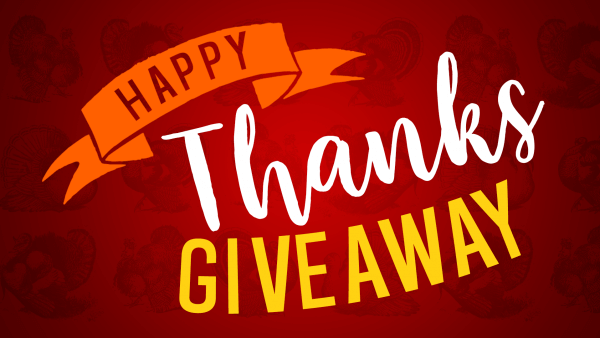 Happy Thanks Giveaway